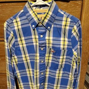 Hollister casual slim fit button up